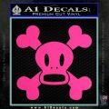 Paul Frank Skurvy Skull Decal Sticker Pink Hot Vinyl 120x120