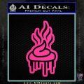 Pile Of Shit Graffiti D2 Decal Sticker Pink Hot Vinyl 120x120