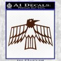 Pontiac Firebird Decal Sticker Retro BROWN Vinyl 120x120