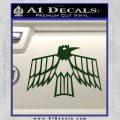 Pontiac Firebird Decal Sticker Retro Dark Green Vinyl 120x120