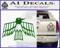 Pontiac Firebird Decal Sticker Retro Green Vinyl Logo 120x97