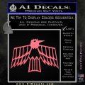 Pontiac Firebird Decal Sticker Retro Pink Emblem 120x120