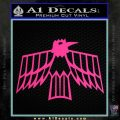 Pontiac Firebird Decal Sticker Retro Pink Hot Vinyl 120x120