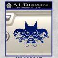 Powerpuff Girls Justice League Final Decal Sticker Blue Vinyl 120x120
