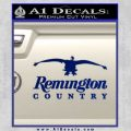 Remington Country Decal Sticker Duck Blue Vinyl 120x120