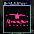 Remington Country Decal Sticker Duck Pink Hot Vinyl 120x120