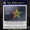 Rockstar Energy Drink D2 Decal Sticker Glitter Sparkle 120x120