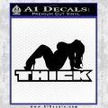 Skin Industries Decal Sticker Black THICK Vinyl Black 120x120