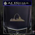 St Louis Arch Decal Sticker CFC Vinyl 120x120