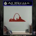 St Louis Arch Decal Sticker DRD Vinyl 120x120