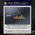 St Louis Arch Decal Sticker Spectrum Vinyl 120x120