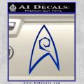 Star Trek Decal Sticker – Engineering Blue Vinyl 120x120