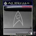 Star Trek Decal Sticker – Engineering Grey Vinyl 120x120