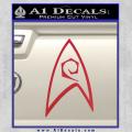 Star Trek Decal Sticker – Engineering Red Vinyl 120x120