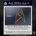 Star Trek Decal Sticker – Engineering Spectrum Vinyl 120x120