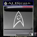 Star Trek Decal Sticker – Engineering White Vinyl 120x120