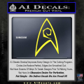 Star Trek Decal Sticker – Engineering Yellow Vinyl 120x120