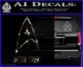 Star Trek Full Emblem Decal Sticker 3DC Vinyl 120x97