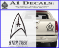 Star Trek Full Emblem Decal Sticker CFB Vinyl 120x97