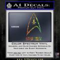 Star Trek Full Emblem Decal Sticker Spectrum Vinyl 120x120