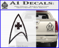 Star Trek Insignia Medical Decal Sticker CFB Vinyl 120x97