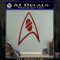 Star Trek Insignia Sciences Decal Sticker DRD Vinyl 120x120