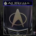 Star Trek Insignia The Next Generation Decal Sticker CFC Vinyl 120x120