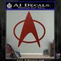 Star Trek Insignia The Next Generation Decal Sticker DRD Vinyl 120x120
