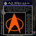 Star Trek Insignia The Next Generation Decal Sticker Orange Emblem 120x120