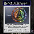 Starfleet Seal Alternate Reality Decal Sticker Glitter Sparkle 120x120