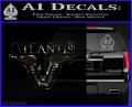 Stargate Atlantis Decal Sticker 3DC Vinyl 120x97