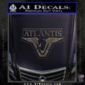 Stargate Atlantis Decal Sticker CFC Vinyl 120x120