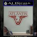 Stargate Atlantis Decal Sticker DRD Vinyl 120x120
