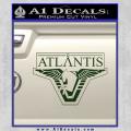 Stargate Atlantis Decal Sticker Dark Green Vinyl 120x120