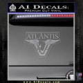 Stargate Atlantis Decal Sticker Grey Vinyl 120x120