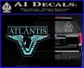 Stargate Atlantis Decal Sticker Light Blue Vinyl 120x97