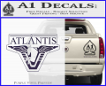 Stargate Atlantis Decal Sticker Purple Vinyl 120x97