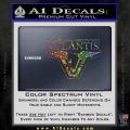 Stargate Atlantis Decal Sticker Spectrum Vinyl 120x120