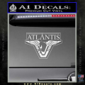Stargate Atlantis Decal Sticker White Vinyl 120x120