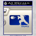 Street Fighter Haudouken D1 Decal Sticker Blue Vinyl 120x120