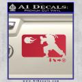 Street Fighter Haudouken D1 Decal Sticker Red Vinyl 120x120