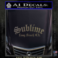 Sublime Long Beach California Decal Sticker CFC Vinyl 120x120