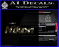 Team Nikon D1 Decal Sticker 3DC Vinyl 120x97