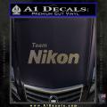 Team Nikon D1 Decal Sticker CFC Vinyl 120x120
