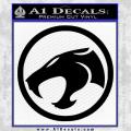 Thundercats Decal Sticker Black Hollow Vinyl 120x120