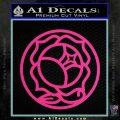 Utena Rose Crest Series Decal Sticker Pink Hot Vinyl 120x120