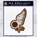 Viper Pilot Wing Caprica Decal Sticker Battlestar Galactica BSG BROWN Vinyl 120x120
