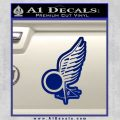 Viper Pilot Wing Caprica Decal Sticker Battlestar Galactica BSG Blue Vinyl 120x120