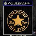 converse Gold Metallic Vinyl Black 120x120