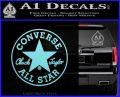 converse Light Blue Vinyl Black 120x97